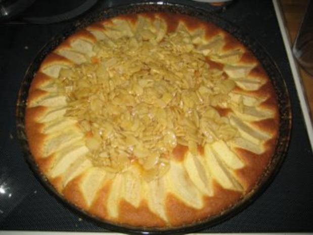 Apfelkuchen mit Mandelbelag - Rezept - Bild Nr. 8