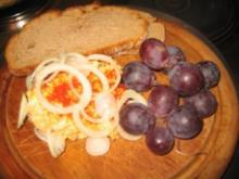 Brotzeit/ Snack: Camembert Reste!!!! - Rezept
