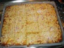 Apfel-Kuchen mit Streusel - Rezept
