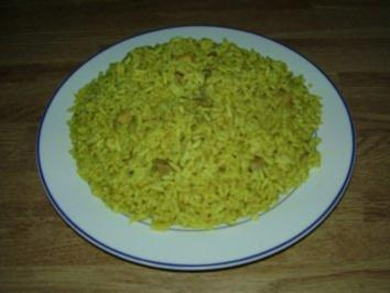 Curry-Reisfleisch aus dem Rohr - Rezept