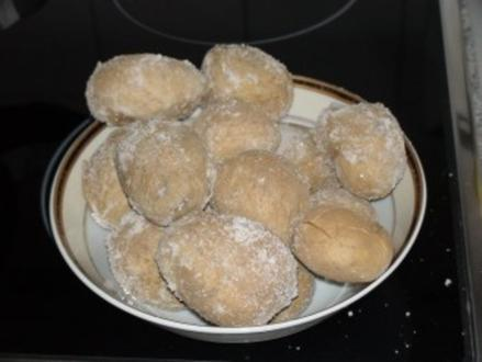 In salz gebackene Kartoffel - Rezept