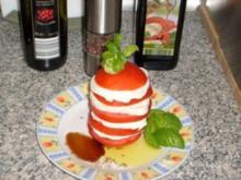 Typischer italienischen Salat - Rezept