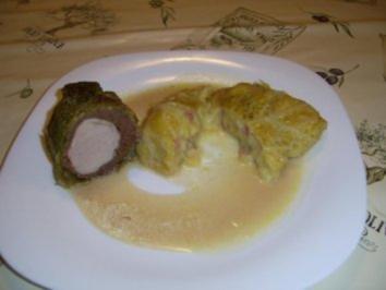 Wirsing-Schinken-Kartoffel-Päckchen - Rezept