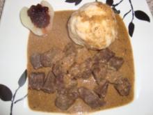 Wildgerichte: Pikantes Hirschgulasch - Rezept