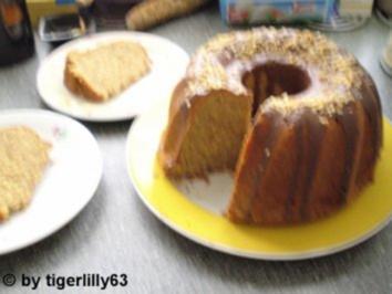 Beschwipster Haselnusskuchen - Rezept