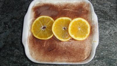 Mandarinen-Orangen-Tiramisu - Rezept