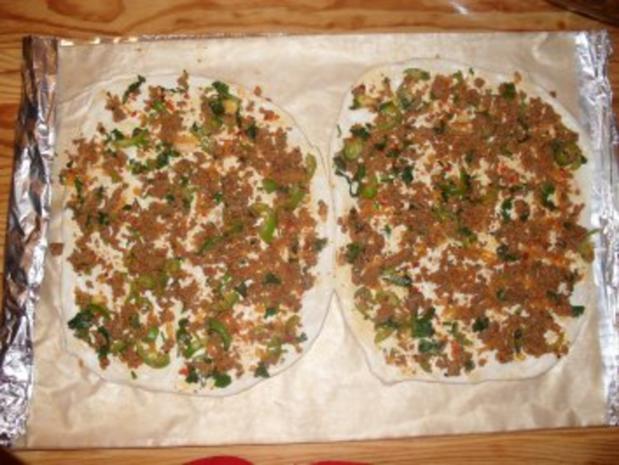Lahmacun aus der Türkischen Küche - Rezept - Bild Nr. 10