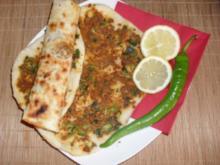 Lahmacun aus der Türkischen Küche - Rezept