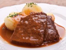 fränkischer Sauerbraten mit Lebkuchensoße - Rezept - Bild Nr. 2