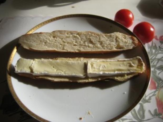 Laugenstangen - Sandwich - Rezept - Bild Nr. 2