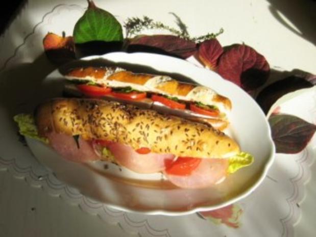 Laugenstangen - Sandwich - Rezept - Bild Nr. 4