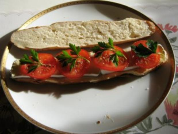 Laugenstangen - Sandwich - Rezept - Bild Nr. 3