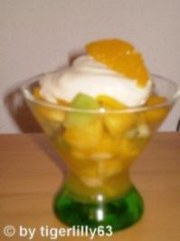 Exotischer Fruchtsalat - Rezept
