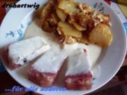 Pfannengericht~Bratkartoffeln mit Sülze und Remouladensosse .... - Rezept