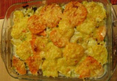 (Süß-) Kartoffel Wirsing Hackfleisch Gratin - Rezept