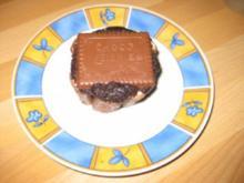 Schlaraffenlandtörtchen aus Zartbitterschokolade - Rezept