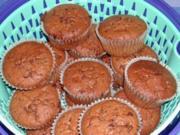 Nuss-Muffins - Rezept