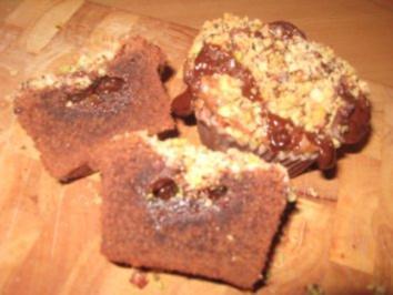 Brownie-Toffee-Muffins - Rezept