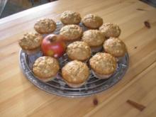 Apfel-Schmand-Muffins - Rezept