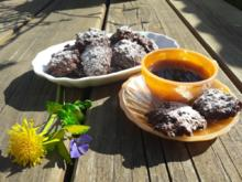 Biscottini al cioccolato oder Schokoladen-Mandelkonfekt - Rezept - Bild Nr. 2