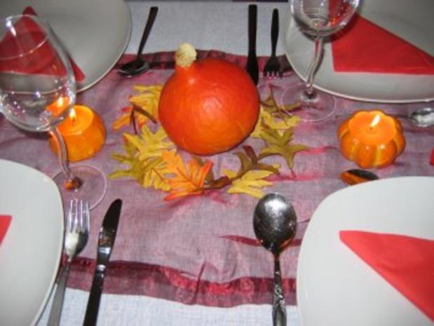 Herbstliches Menü - Rezept