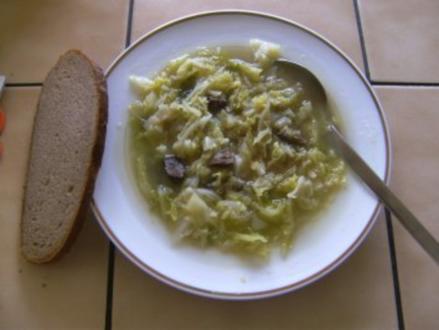 SUPPE - Uta's Wirsingsuppe - Rezept