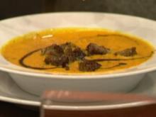 Steirisch-asiatische Kürbiscremesuppe (Michaela Schaffrath) - Rezept