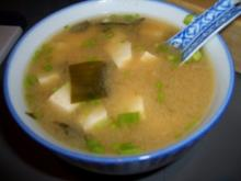 Misosuppe mit Wakame - Rezept