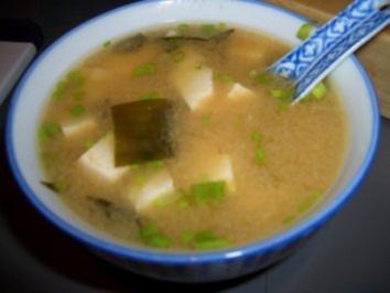 Rezept: Misosuppe mit Wakame