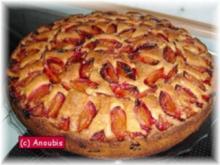 Kuchen/Gebäck - Schneller Pflaumenkuchen - Rezept