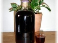 Angesetzter - Schlehenlikör - Rezept