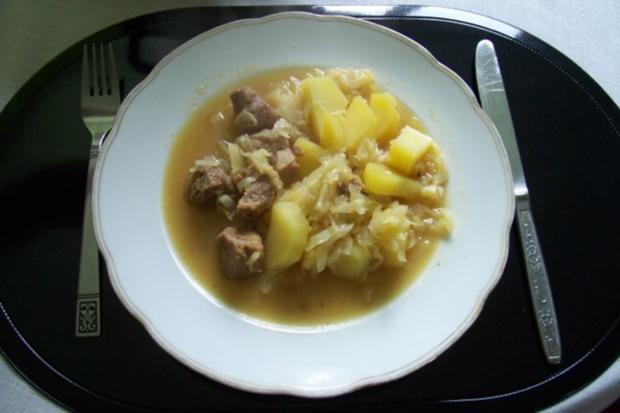 Fleisch auf englische Art - Rezept
