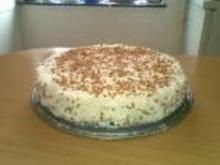 Bailes-Torte mit Krokant - Rezept