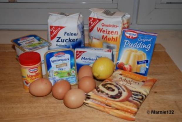 Käse-Mohn Torte - Rezept - Bild Nr. 2
