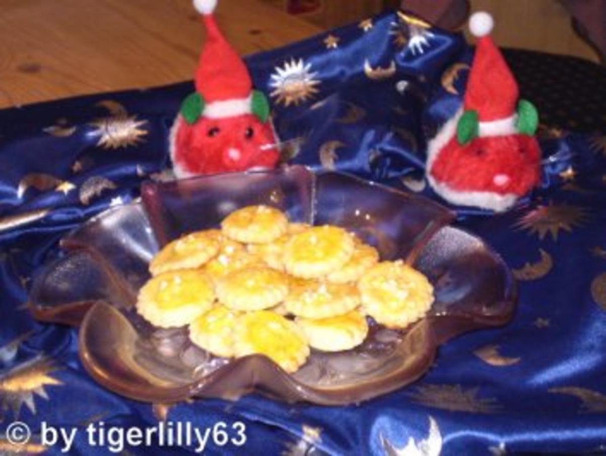 Weihnachten: Großmutters Rahmplätzchen - Rezept Durch tigerlilly63