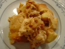 Apfel-Quark-Auflauf mit Honig-Pops... - Rezept