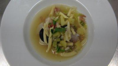 Westländer Fischsuppe mit frischgebackenem Bergischen Landbrot - Rezept