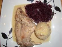 Fleischgerichte: Kaninchen in Senfsoße - Rezept