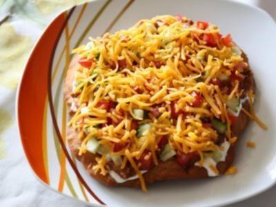 Indian (Apache) Taco - Rezept