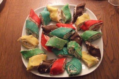 Rezept: Bunte Party - Snacks