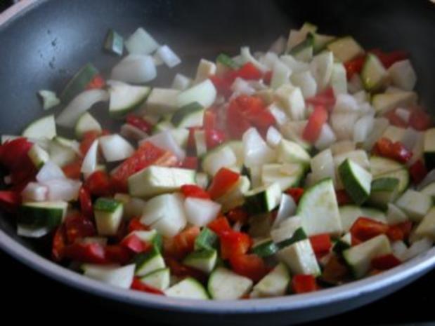 Schaschlikspieße mit Gemüse und Bulgur - Rezept - Bild Nr. 6