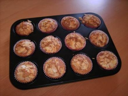 Mandel-Muffins - Rezept