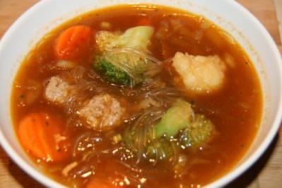 Rezept: Suppen: Basco - indonesische Suppe