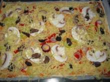 Mediterrane Pizza - Rezept