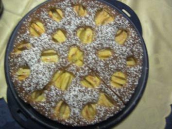 Backen: Versunkener Apfelkuchen - Rezept