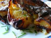 Biggis gequetschte Ofenkartoffeln mit Kardamon-Kümmel-Öl - Rezept