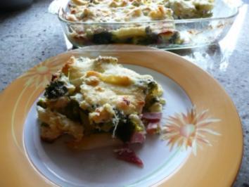 Broccoli-Auflauf mit Nudeln - Rezept