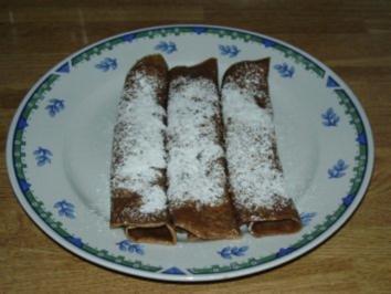 Braune Palatschinken - Rezept