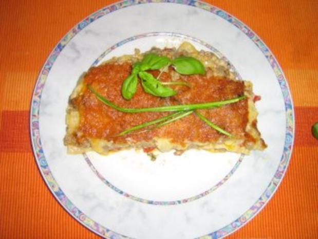 Lasagne alla Rosa - Rezept