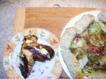 Hähnchenbrust Athena ( immer noch Strohwitwer) - Rezept